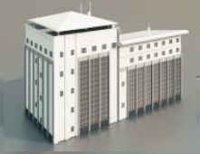 1 fices/ fice Buildings / Architectural Model-7 3D Model