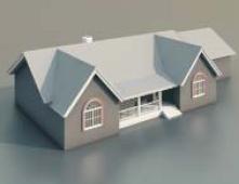1 villas / Architectural Model-1 3D Model