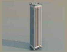 2 Skyscrapers / Architectural Model-18 3D Model