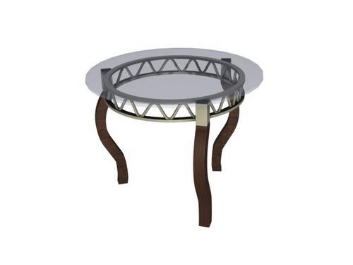 2007 High-quality furniture /tables 8-14 3D Model