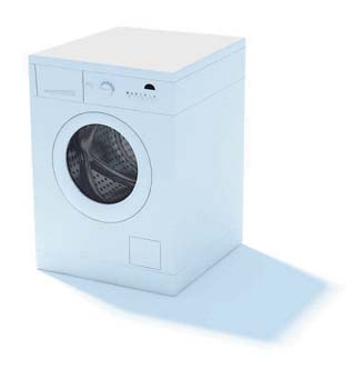 2009 New Washing Machine 3D Model 1-2