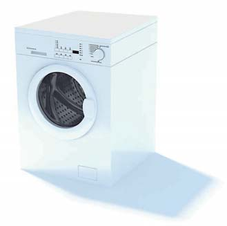 2009 New Washing Machine 3D Model 1-3