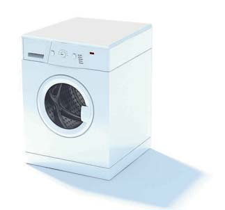 2009 New Washing Machine 3D Model 2-2