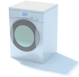 2009 New Washing Machine 3D Model 2-3