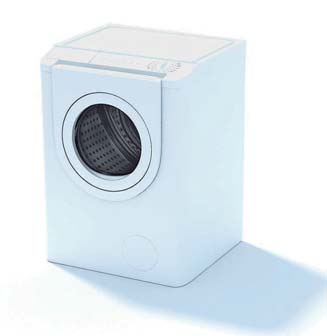 2009 New Washing Machine 3D Model 2-6