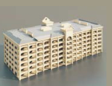 2Offices/fice buildings / Architectural Model-16 3D Model