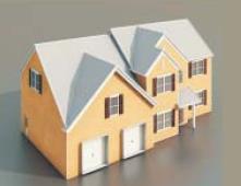 3 villas / Architectural Model-5 3D Model