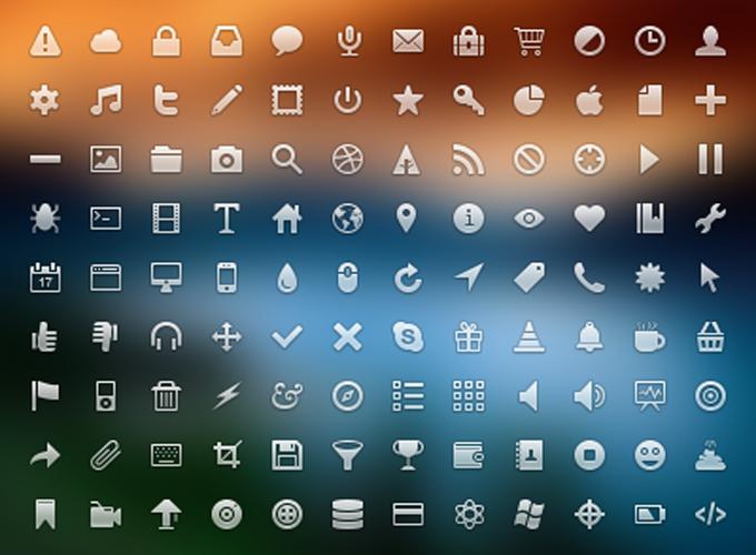 32px Icon Set PSD