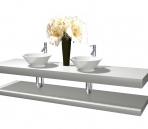 3D bathroom model – wash tank 001