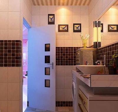 3D Model of bathroom