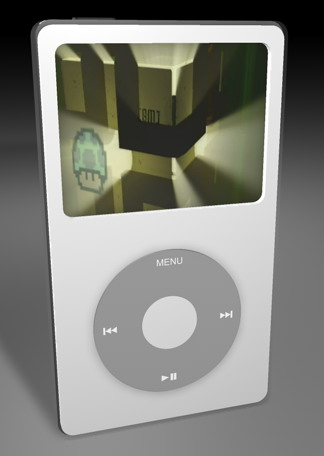 3D model of iPod player