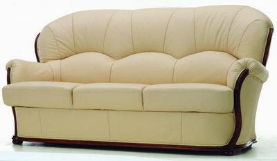3D Model of leather sofa boss