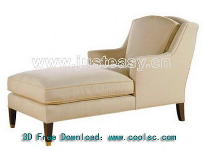 3D model of neo-classical chair child (including materials)