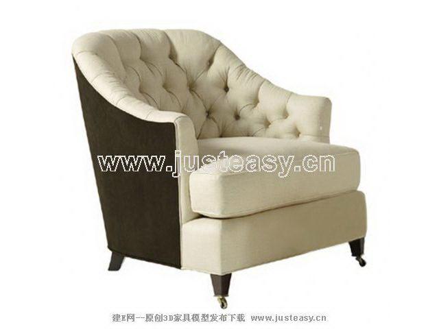 3D Model of sofa fabric Ruanmian (Khan Material)