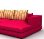 4 sets new furniture in 2007 3D Model