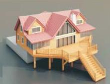 4 Villas / Architectural Model-6 3D Model