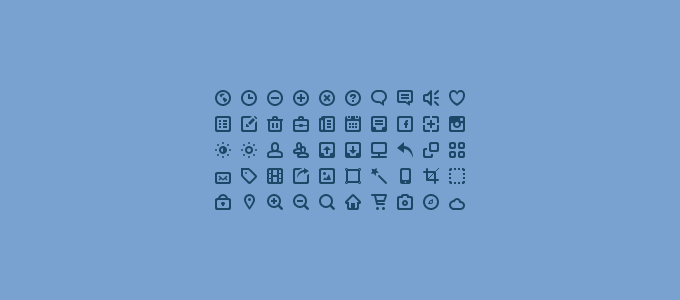 50 Icon Set PSD