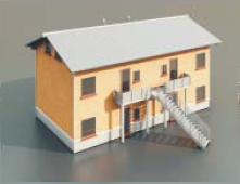 a house with two floor / Architectural Model-47 3D Model