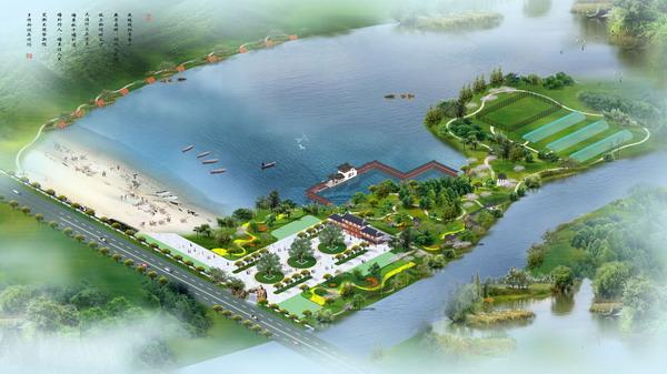 Agro-ecological tourism park model 3D Model