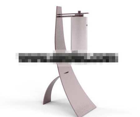 Alternative fashion cool metal lamp 3D Model
