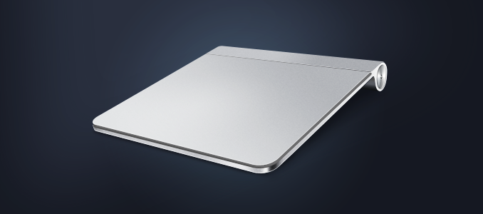 Apple Magic Trackpad PSD