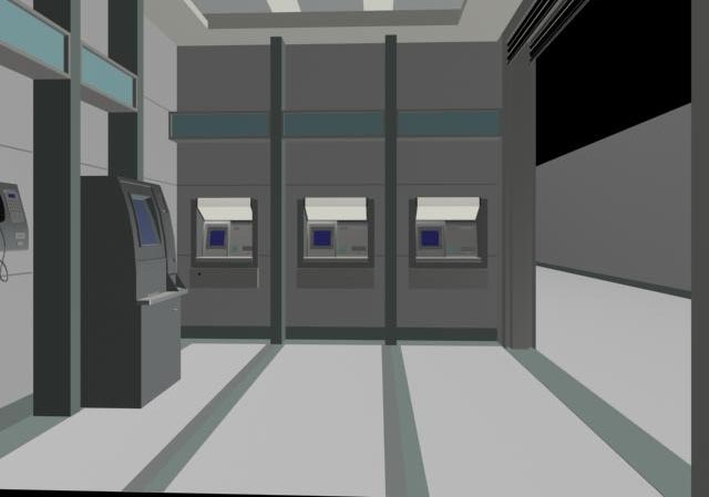 Banks equipment 3 3D Model