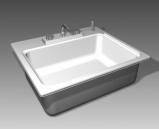 Bathroom -Bathtub 005 3D Model