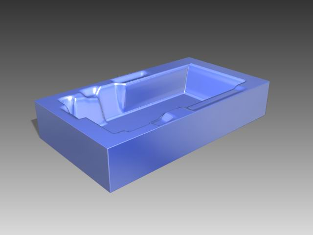 Bathroom -Bathtub 015 3D Model