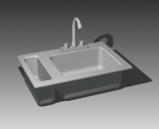 Bathroom kitchen supplies 001 – occupants��67�� 3D Model