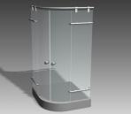 bathroom -The shower 002 3D Model