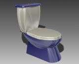 Bathroom -toilets 001 3D Model