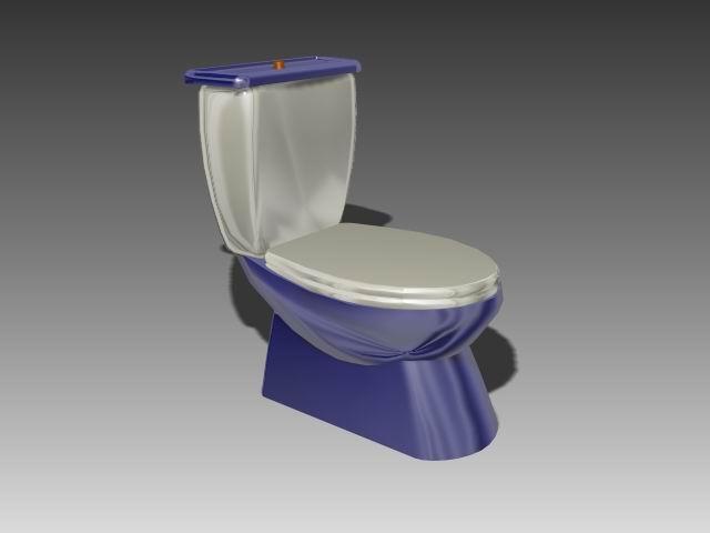 Bathroom -toilets 001 3D Model