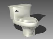 Bathroom -toilets 003 3D Model