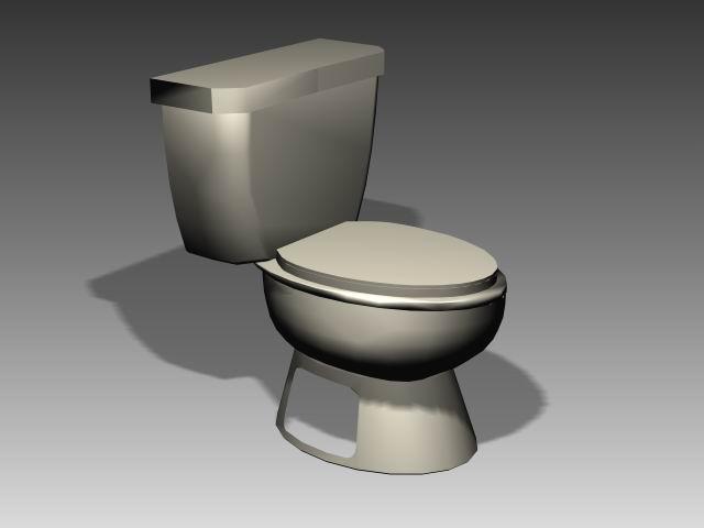 Bathroom -toilets 004 3D Model
