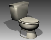 Bathroom -toilets 004 3D Model
