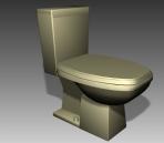 Bathroom -toilets 005 3D Model