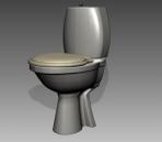 Bathroom -toilets 006 3D Model