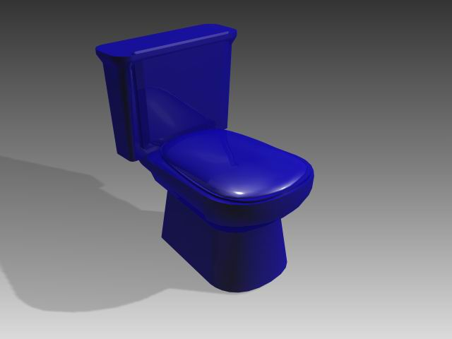 Bathroom -toilets 007 3D Model