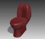 Bathroom -toilets 008 3D Model