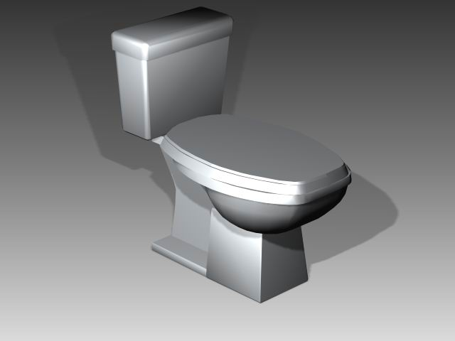 Bathroom -toilets 009 3D Model