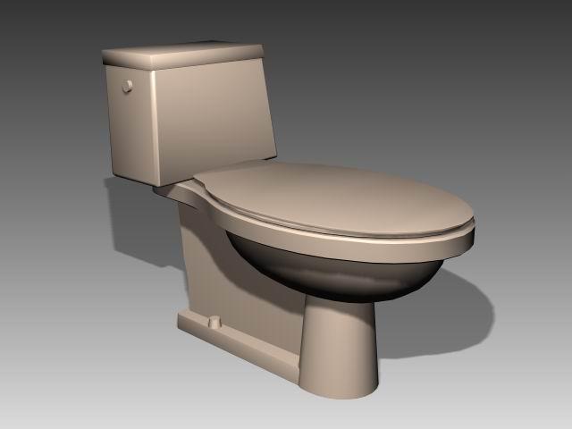 Bathroom -toilets 010 3D Model