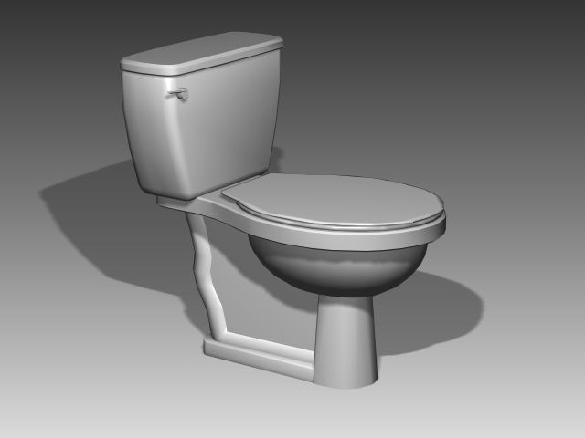 Bathroom -toilets 011 3D Model