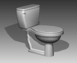 Bathroom -toilets 011 3D Model