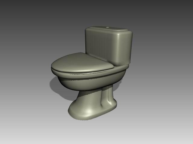 Bathroom -toilets 012 3D Model