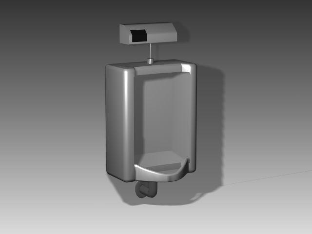 Bathroom -Urinals 002 3D Model