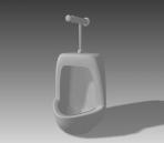 Bathroom -Urinals 003 3D Model