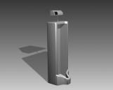 Bathroom -Urinals 004 3D Model