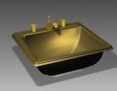 Bathroom – wash tank 011 3D Model