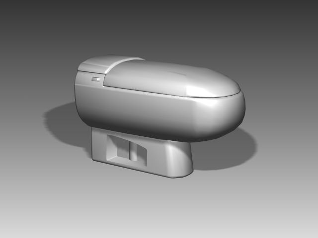 Bathroom – wash tank 013 3D Model