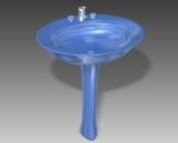 Bathroom – wash tank 017 3D Model
